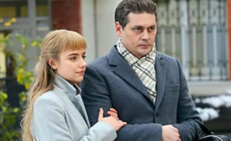 """Кадр из фильма """"Два берега надежды"""" на Россия-1"""